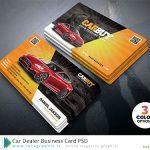 طرح لایه باز کارت ویزیت نمایندگی و نمایشگاه خودرو