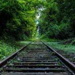 والیپر منظره راه اهن