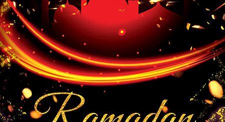 طرح لایه باز پوستر برای ماه مبارک رمضان 1399